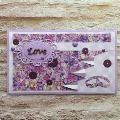 """Еще одна песнь о любви к бумаге, на обложке которой ангелок. Бумага Galeria Papieru. На этот раз коллекция сиреново-фиолетового цвета  """"Purple Rain-Фиолетовый дождь""""  фото 11"""