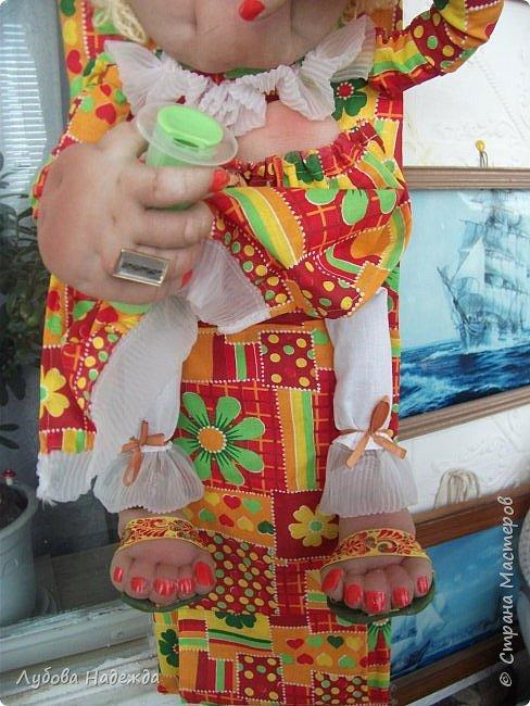 Кукла на два рулона!Заказали ,что б с ножками!:-)  фото 6