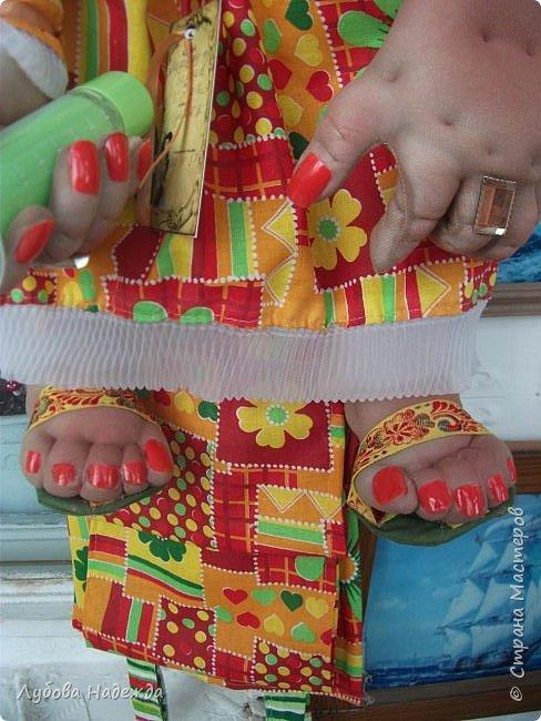 Кукла на два рулона!Заказали ,что б с ножками!:-)  фото 5