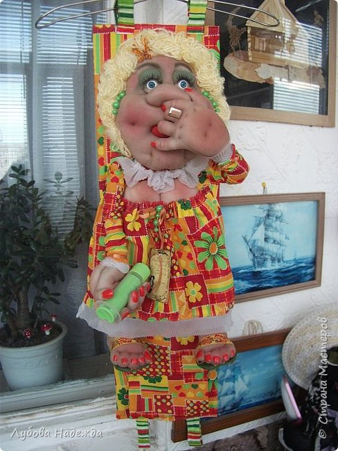 Кукла на два рулона!Заказали ,что б с ножками!:-)  фото 1