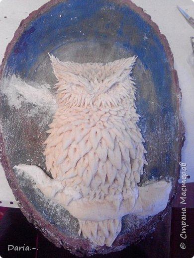 Сова из соленого теста (пошагово) фото 3