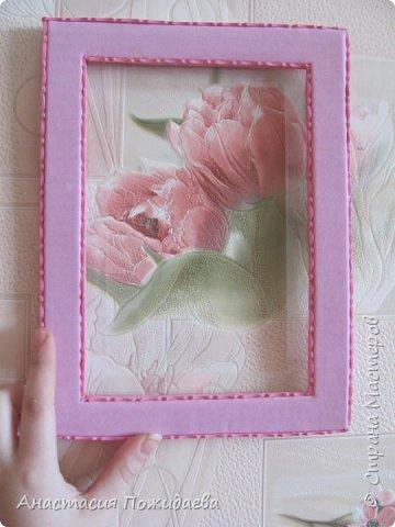 Простая и оригинальная рамочка для фото :) фото 4