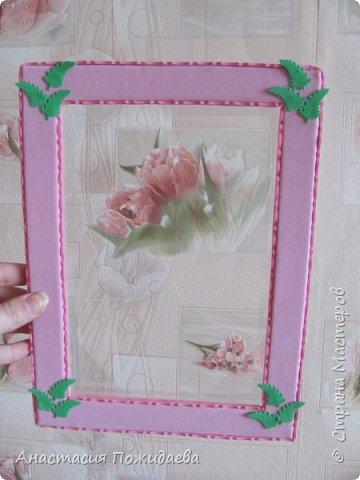 Простая и оригинальная рамочка для фото :) фото 6