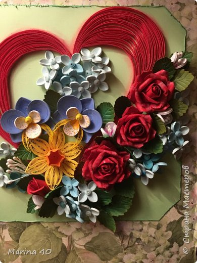 Quilling card фото 7