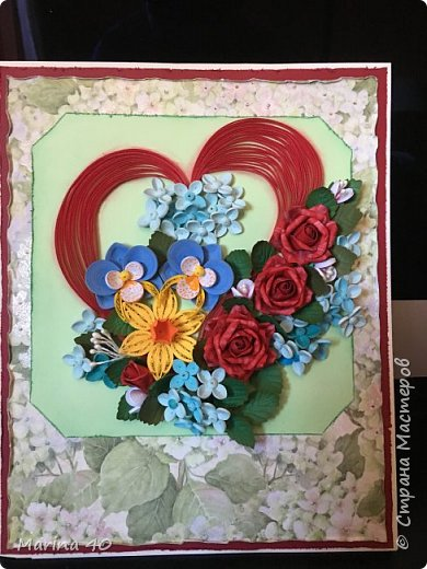Quilling card фото 3