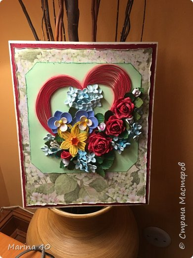 Quilling card фото 4