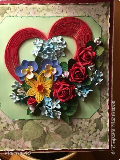 Quilling card фото 6