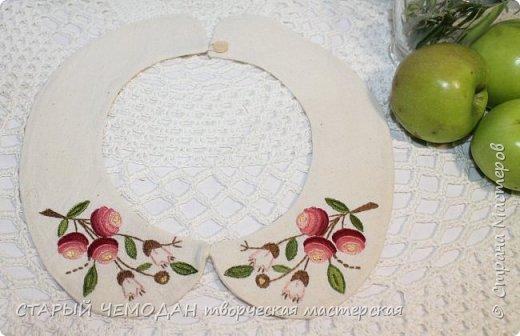 воротничок с вышивкой фото 4