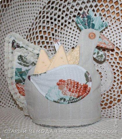 грелка на чайник - петушок фото 2
