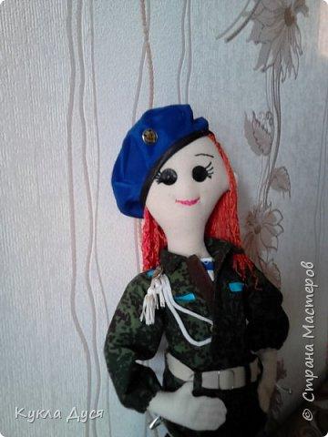 кукла Дуся десантник фото 2