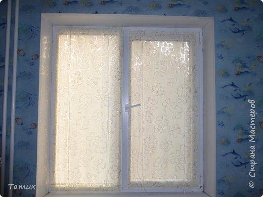 Сегодня я хочу показать несложный мастер-класс шторок на окно на липучках . Это альтернатива ролл- штор или жалюзи . Эконом вариант . Мастер-класс рассчитан на новичков в шитье . фото 13