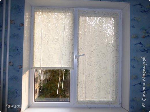 Сегодня я хочу показать несложный мастер-класс шторок на окно на липучках . Это альтернатива ролл- штор или жалюзи . Эконом вариант . Мастер-класс рассчитан на новичков в шитье . фото 14