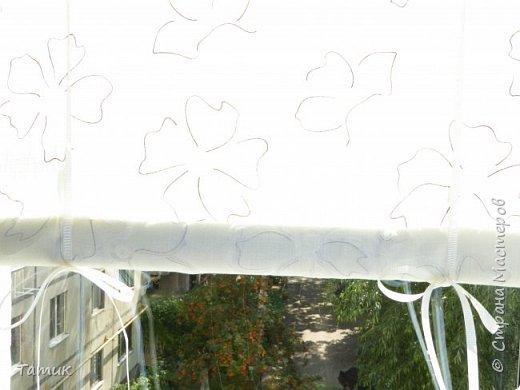 Сегодня я хочу показать несложный мастер-класс шторок на окно на липучках . Это альтернатива ролл- штор или жалюзи . Эконом вариант . Мастер-класс рассчитан на новичков в шитье . фото 15