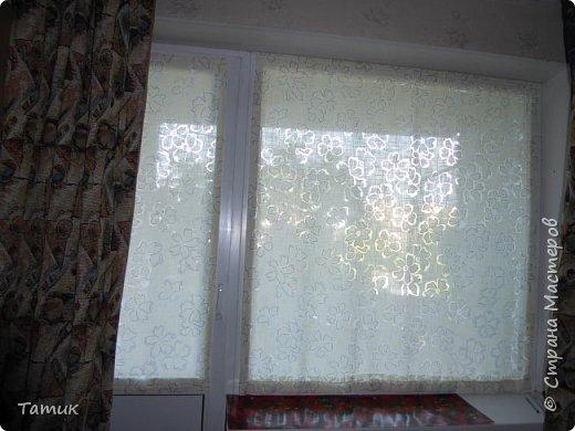 Сегодня я хочу показать несложный мастер-класс шторок на окно на липучках . Это альтернатива ролл- штор или жалюзи . Эконом вариант . Мастер-класс рассчитан на новичков в шитье . фото 17
