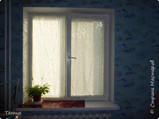 Сегодня я хочу показать несложный мастер-класс шторок на окно на липучках . Это альтернатива ролл- штор или жалюзи . Эконом вариант . Мастер-класс рассчитан на новичков в шитье . фото 19