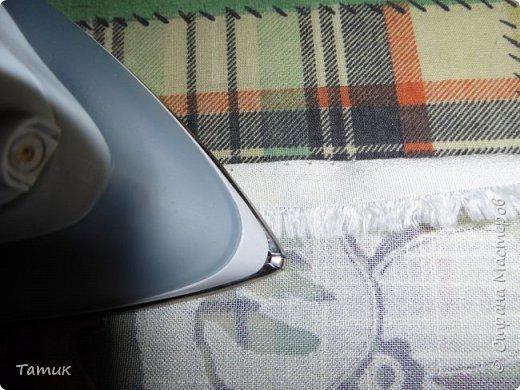 Сегодня я хочу показать несложный мастер-класс шторок на окно на липучках . Это альтернатива ролл- штор или жалюзи . Эконом вариант . Мастер-класс рассчитан на новичков в шитье . фото 8