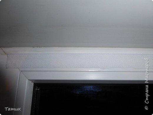 Сегодня я хочу показать несложный мастер-класс шторок на окно на липучках . Это альтернатива ролл- штор или жалюзи . Эконом вариант . Мастер-класс рассчитан на новичков в шитье . фото 4