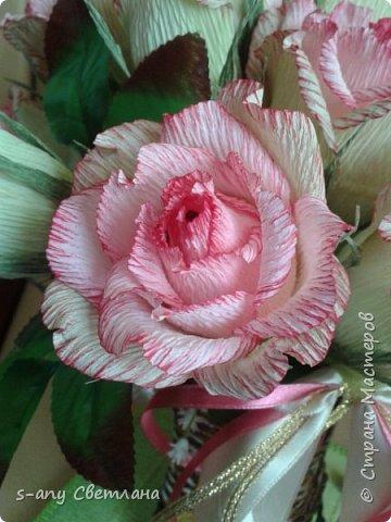 Розы делала по МК Ларисы Тепляковой. Очень эффектные! фото 1