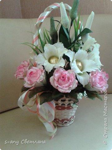 Розы делала по МК Ларисы Тепляковой. Очень эффектные! фото 6
