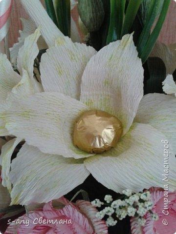 Розы делала по МК Ларисы Тепляковой. Очень эффектные! фото 8
