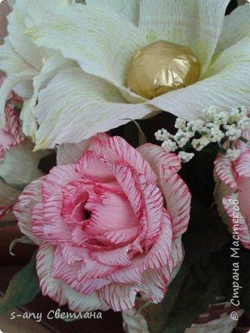 Розы делала по МК Ларисы Тепляковой. Очень эффектные! фото 9