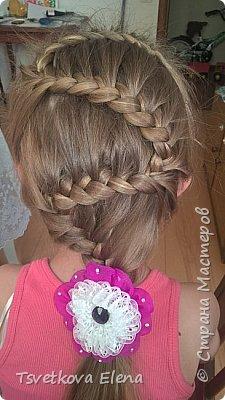 резинки для волос канзаши фото 4