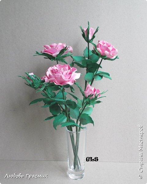 Розочки из корейского фома фото 1