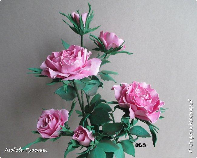 Розочки из корейского фома фото 3
