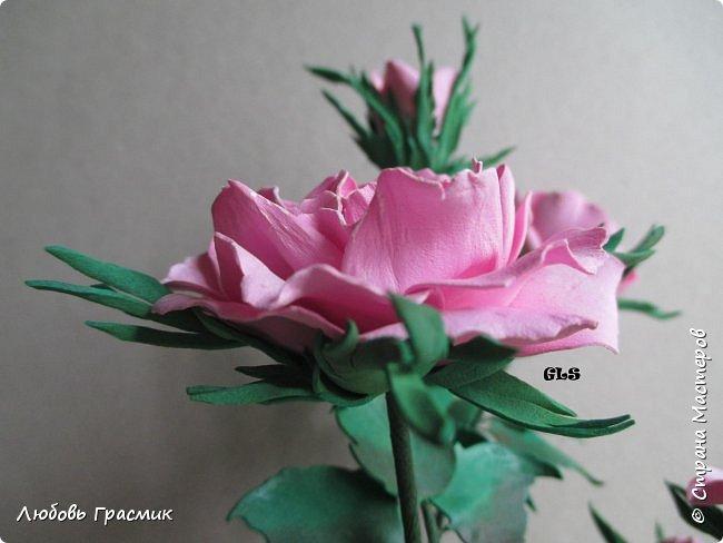 Розочки из корейского фома фото 4