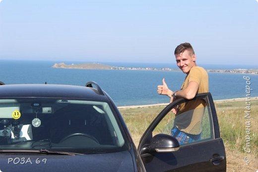 Мечты сбываются.....В этом году отпуск провели с мужем и детьми в Крыму. Своими впечатлениями я хочу поделиться и с вами. Наберитесь терпения,  фоток будет  много, отчет об отдыхе будет подробнейший. Итак, начнем. фото 26