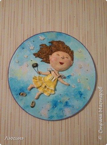 И снова я решила слепить эту воздушную прелесть Евгении Гапчинской для своей подруги, поскольку она великолепно передаёт наше летнее состояние! фото 2