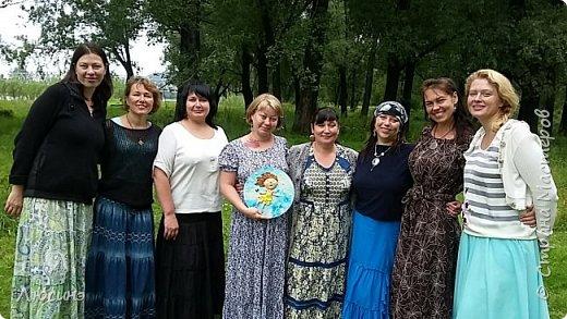 И снова я решила слепить эту воздушную прелесть Евгении Гапчинской для своей подруги, поскольку она великолепно передаёт наше летнее состояние! фото 10