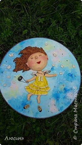И снова я решила слепить эту воздушную прелесть Евгении Гапчинской для своей подруги, поскольку она великолепно передаёт наше летнее состояние! фото 8