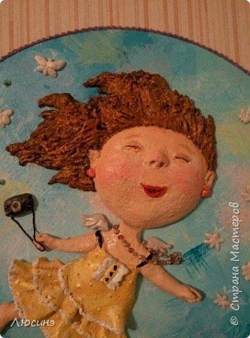 И снова я решила слепить эту воздушную прелесть Евгении Гапчинской для своей подруги, поскольку она великолепно передаёт наше летнее состояние! фото 4