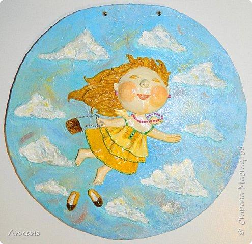 И снова я решила слепить эту воздушную прелесть Евгении Гапчинской для своей подруги, поскольку она великолепно передаёт наше летнее состояние! фото 6