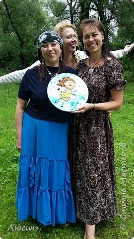 И снова я решила слепить эту воздушную прелесть Евгении Гапчинской для своей подруги, поскольку она великолепно передаёт наше летнее состояние! фото 9