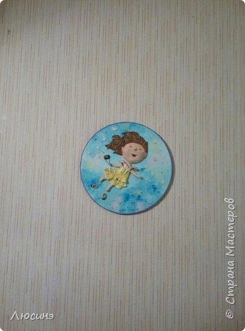И снова я решила слепить эту воздушную прелесть Евгении Гапчинской для своей подруги, поскольку она великолепно передаёт наше летнее состояние! фото 5