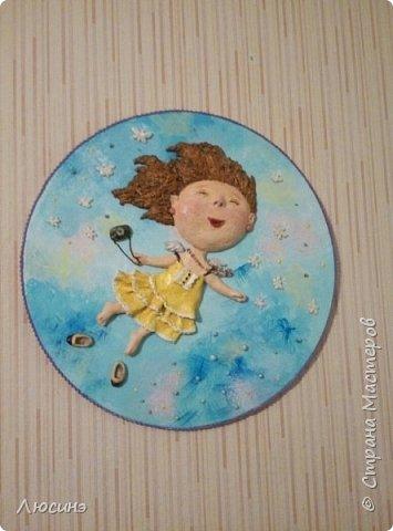 И снова я решила слепить эту воздушную прелесть Евгении Гапчинской для своей подруги, поскольку она великолепно передаёт наше летнее состояние! фото 1