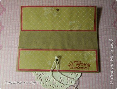 Решила сделать конверты для денег, а за идею взяла конверты у Голубки (http://stranamasterov.ru/golubka)... Размер конвертов: 17,5 см*8,5 см фото 4