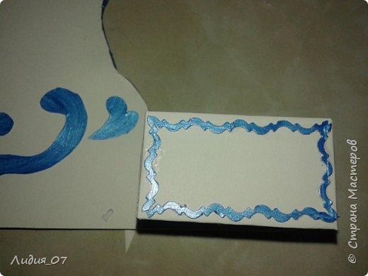 Здравствуйте мастерицы!!! Давно была у меня запланирована спальня для кукол в голубом, уж больно мне этот цвет нравится, но руки ни как не доходили. Но однажды в одной соц сете я увидела мастер класс на стульчик для кукол, и он меня вдохновил, я решила сделать спальню в романтическом стиле))) Сегодня покажу как я делала туалетный столик.... фото 40