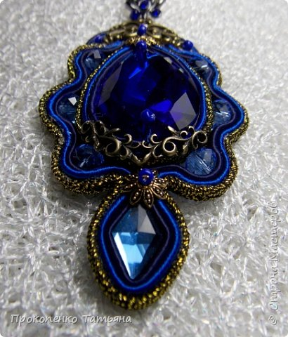 Собрала кристаллы,камушки ,бусинки синих оттенков фото 13