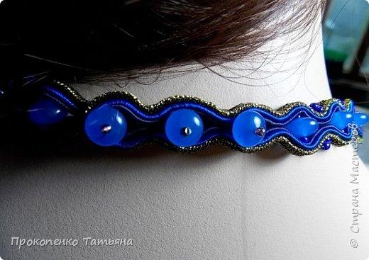 Собрала кристаллы,камушки ,бусинки синих оттенков фото 11