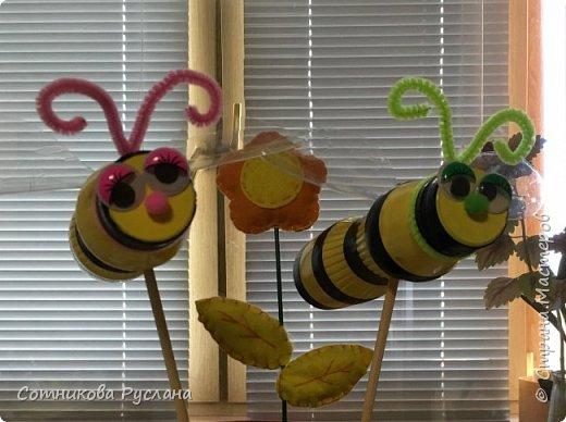 Дружная семейка из цветочных горшков. фото 13