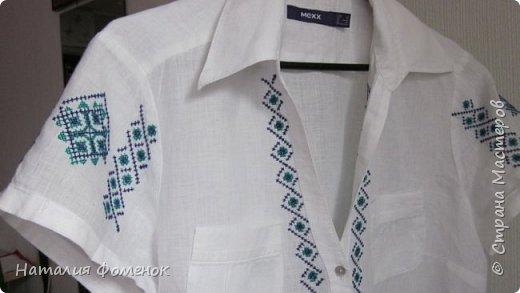 """Рубашка """"Народные мотивы сегодня"""" фото 4"""