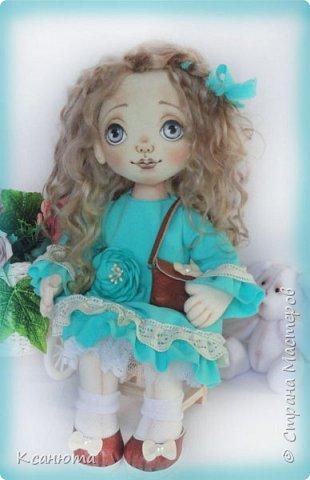Кукла Юленька,а теперь её зовут Милана. фото 2