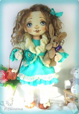 Кукла Юленька,а теперь её зовут Милана. фото 3