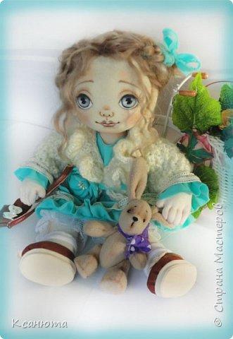 Кукла Юленька,а теперь её зовут Милана. фото 5