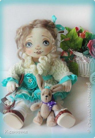 Кукла Юленька,а теперь её зовут Милана. фото 6
