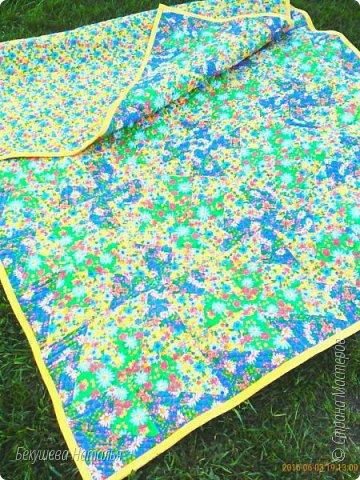 "Лоскутное одеяло ""На завалинке"" фото 1"
