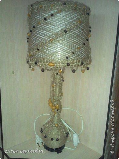 Настольная лампа фото 1